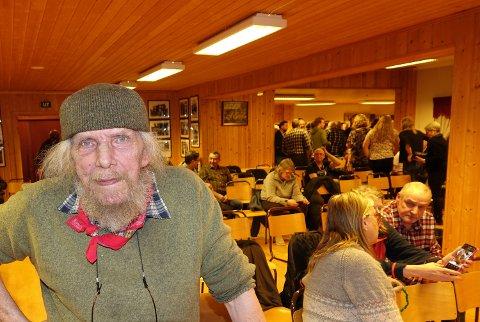 FLERE FOREDRAG: Trond Burud har sagt ja til flere foredrag om ulv, blant annet i Osen.