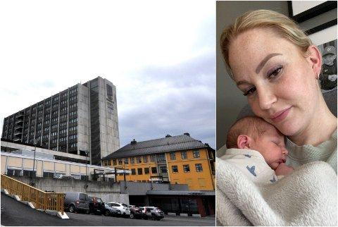 DÅRLIG OPPLEVELSE: Sandra Bekken (28) angrer på at hun valgte å føde sin andre sønn ved Sykehuset Innlandet.