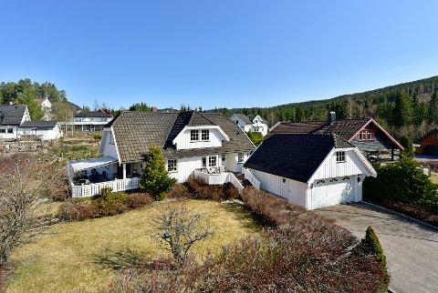 SOLGT: Blåbæråsen 13 ble augusts dyreste eiendom i Lunner.