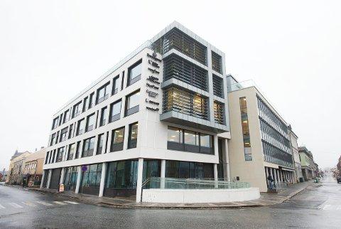 BILLIGST: Nordea som holder til i Halden Brygge kommer best ut av HAs siste sjekk av boliglånsrenter i Halden.
