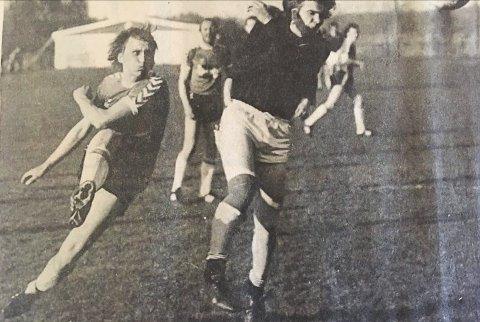 DRØMMELAG: Terje Iversen spilte for TTIF hele sin karriere. Det stoppet på 397 a-kamper, fjerde mest i klubbens historie.