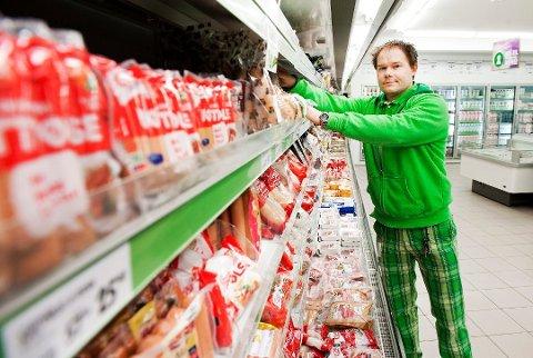 Vekst: Thomas Halvorsen er en av kjøpmennene som opplever solid vekst. Foto: Kristian Bjørneby