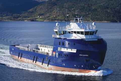 «Normand Server» fotografert den gang skipet het «Rem Server».