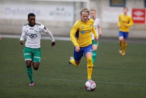 KLAR FOR VARD: Fredrik Deilkås, her i aksjon mot Kopervik forrige sesong.