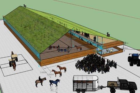Landbruksskolen på Tveit i Tysvær sa i fjor opp leieavtalen med gården på Tveit. I 2018 skal skolen bygge ny ridehall, blant annet.