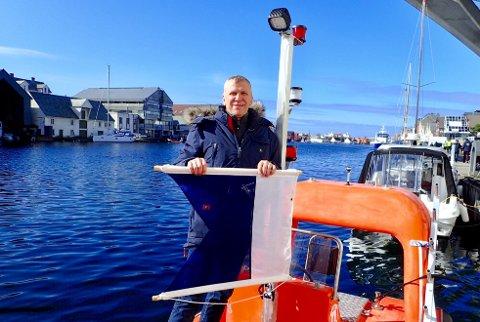 SKAL KARTLEGGE: Leder i Slettaa dykkerklubb Åge Wee er spent på hva som dukker opp under kartleggingen i helgen.