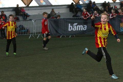 Påmeldingen til Stamnes cup for de yngste er i gang. Foto: Leif Steinholt