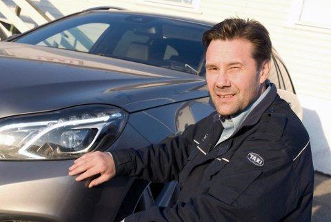 LEDER OG MEDEIER: Ronny Bang Amundsen er styreleder, daglig leder og medeier i Alta Taxi AS.