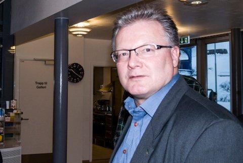 BOMPENGEFORSLAG KLART: Rådmann Leif Vidar Olsen, og administrasjonens forslag er klart til behandling i formannskapet.