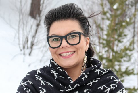 SATSER STORT: Etter å ha erobret Sápmi står nå resten av veden for tur. For designer Anne Berit Anti har nå planer om å ta klesmerket Abanti internasjonalt.
