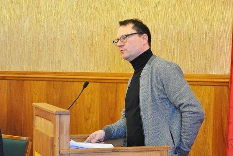 Jan Olsen, ordfører i Nordkapp er skuffet. Bildet er tatt ved en tidligere anledning.