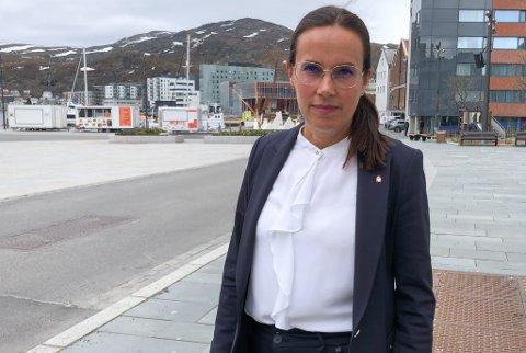 FORTSATT MANGE SMITTEDE: Ordfører Marianne Sivertsen Næss opplyste på fredagens pressekonferanse at det fremdeles er rundt ti prosent av prøvene fra kommunen, som kommer tilbake positive.