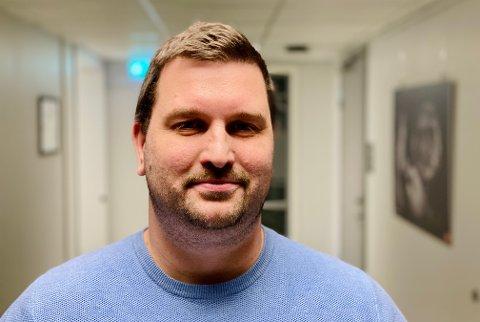 Øyvind Arntzen er i dag konstituert enhetsleder for helse og mestring i Harstad kommune.