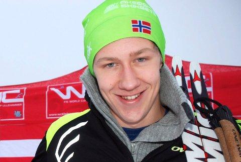 NUMMER FIRE: Hans Kristian Holmbro tok en sterk fjerdeplass.