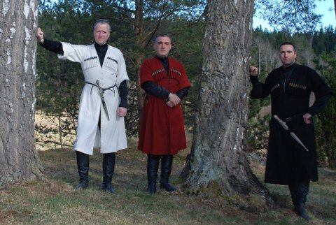 TIL EIDSVERKET: Ensemble Giorgi synger på Bjørkelangen fredag kveld.