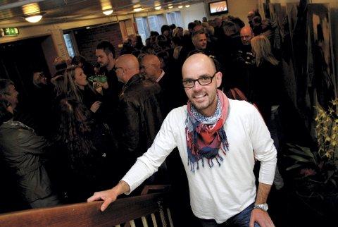 SKAUANGEN? Jon Løvaas' mener hans forslag til nytt kommunenavn bør klinge godt hos folk i både Sande, Hof og Holmestrand.
