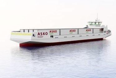 Kommer neppe: De førerløse elferjene til ASKO kommer neppe til Mulvika og Holmestrand. Nå satser matgiganten på Horten havn.foto: Asko