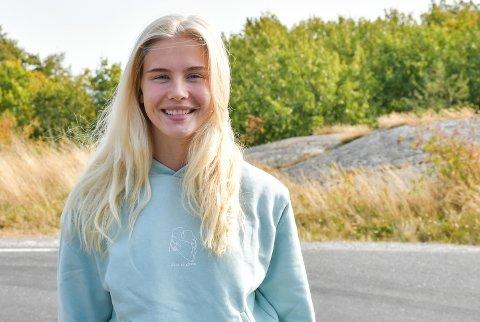 VENNINER I SANNIDAL: Amalie Snøløs kunne avsløre at hun har vært en del i Sannidal før, da hun har en del gode venninner i området.