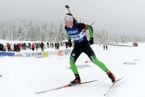 2. og 4. plass blei fasiten til Martin Femsteinevik i helga. Han var berre sekund og ein hårfin bom unna å gå til topps. Foto: Arne Brunes.