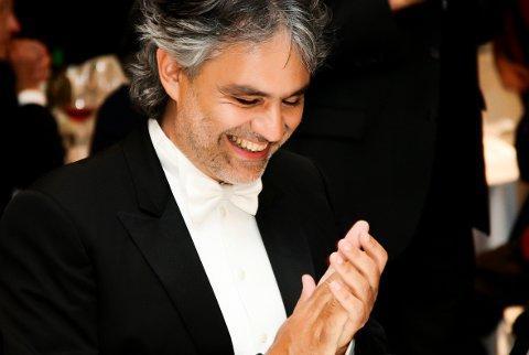 TENOR: Filmen om Andrea Bocelli har førpremidere på Kongsbberg kino 22. september.