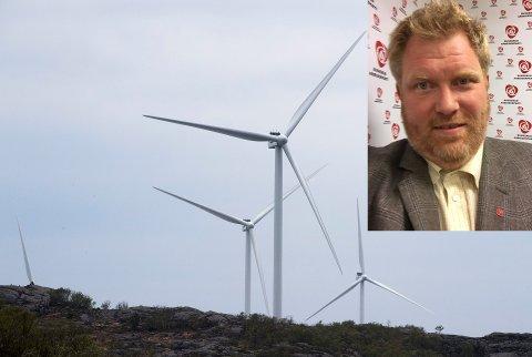 – Uberørt natur skal ikke belemres, sier Ødegården. Fylkesrådet støtter opp under de kommunene som sier nei til etablering av vindturbinparker.