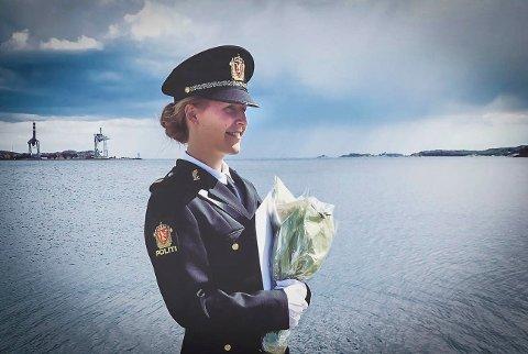 Til Rødberg: Ingrid Helene flytter hjem til jobb ved lensmannskontoret på Rødberg.