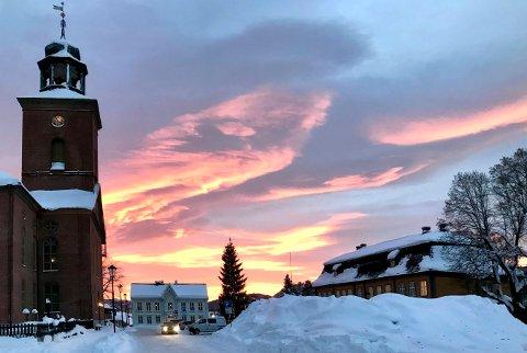 FÅR PENGER: Kongsberg kirke får 900.000 kroner til klimaskallsikring.