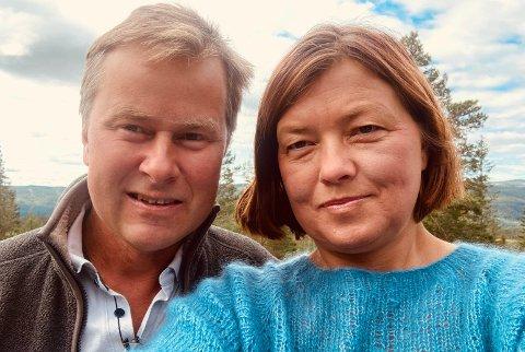 GIKK BRA: Det var forrige helg at Runar Steen ble akutt syk på Blefjell. Heldigvis gikk det bra for både Runar og Ingvild Aune Steen.