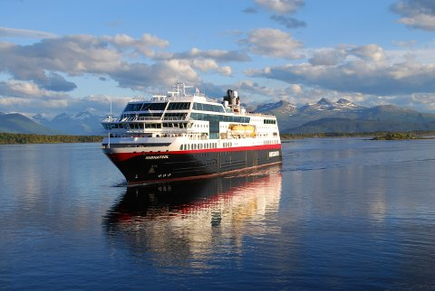 Pusses opp: MS Midnatsol er nå ett av tre skip som skal gjennom en totalforvandling.