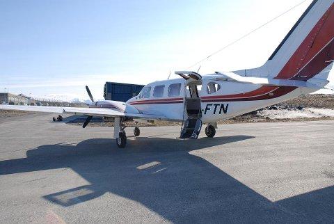 TIL SALGS: Det er flere år siden selskapet ble avviklet. Nå er det siste flyet, LN-FTN, lagt ut på auksjon.