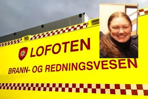 Insatsleder brann, Sara Johansson (innfelt) forteller om nattens brann på Bøstad.