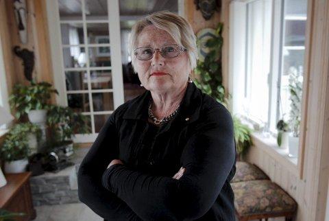 Trist: – Det er gjort en altfor dårlig jobb av partiene i forkant, sier Gerd Louise Molvig (Sp), en av bare sju kvinner som er valgt inn i det nye kommunestyret i Rygge.