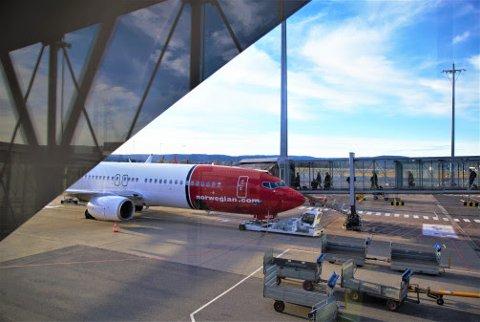 Øker: Norwegian øker kapasiteten neste år.