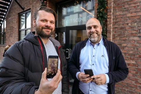 SISTE OPPROP: Moss kulturhus og Petter Fosse (til venstre) og Verket Scene med Kenneth Reinaas er to lokale kulturarrangører som vil legge ut restplassbilletter på Last Call.
