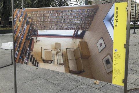 NOMINERT: Denne eneboligen på Hellerud er et av tre lokale bygg som ble nominert til Oslo bys arkitekturpris 2015.