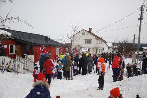 Godt oppmøte på Høyenhall Vels barneskirenn