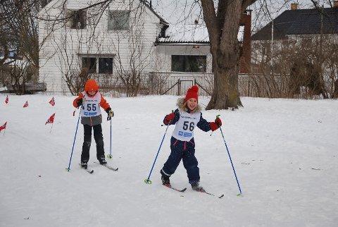Fine forhold og fornøyde deltakere under barneskirennet