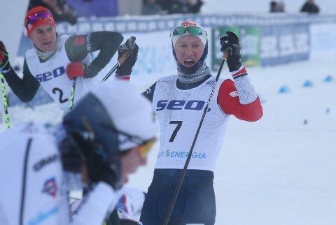 Junior-VM  Torsdag 24. januar 2019 Lahti 15 - 30 kilometer klassisk stil med fellesstart
