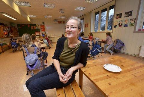 Gjennom ti år: Kunst og handverkslærar ved Heidal skule, Kjersti Myhrehagen, seier at fem kunstnarar skal følgje elevane i denne skuleklassa frå 1. til 10 klasse.