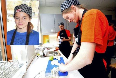 Slekt: Tremenningane Terese Visdal Ulsand, Vågå, og Johanne Haugen Linderud, Dombås, konkurrerte mot kvarandre under Kokkekampen