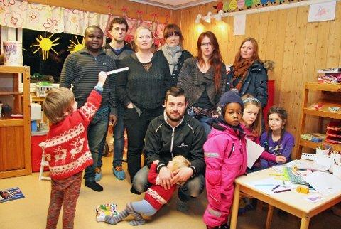 SJOKKBESKJED: Foreldrene i Åsgård barnehage fikk før jul vite at barnehagen skulle nedlegges gjennom en lapp på døra. Beslutningen kom helt uventet.