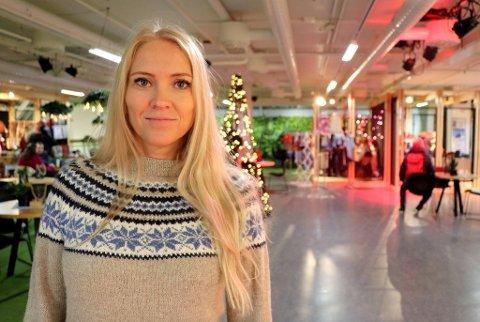 REDD: Lill Sverresdatter Larsen sier flere av hennes medlemmer er redd for å fly med Babcock.