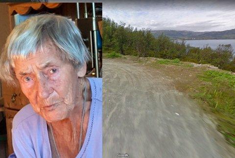 ENDRET VERDI: Eiendommen til Lorence Sørensen (95) på nordøya har hun hatt siden 50-tallet. Nylig fant hun ut at eiendommen ikke kan bebygges. Nå mener hun eiendommen er blitt verdiløs.