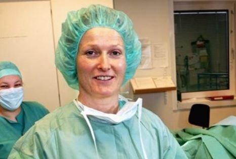 PÅ TOPP: Marit Helene Hansen. Bildet ble tatt i forbindelse med en Nordlys-reportasje i 2005.