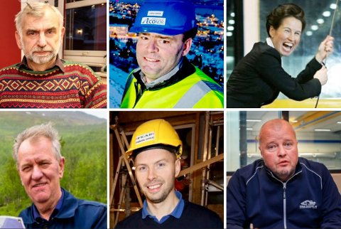 ENDRINGER FØR NYTTÅR: Erling Johnsen, John Oskar Nyvoll, Grete Ovanger, Knut Magne Wilhelmsen, Andreas Willumsen, Rune Madsen.