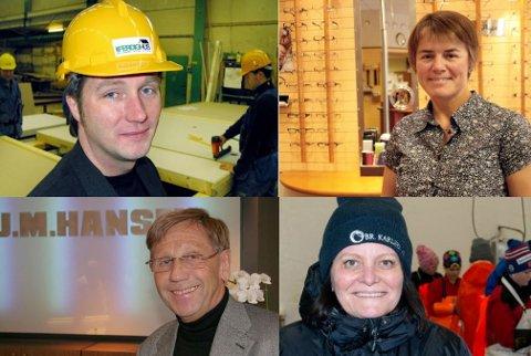 EIERE: Ole Ovesen, Sissel Ditlefsen, Odd Erik Hansen og Rita Karlsen.