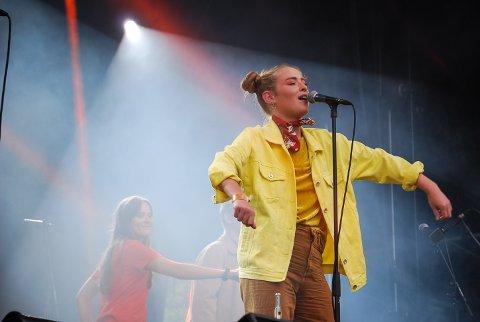 TIL FJORDS: Fieh dukker sammen med Frida Ånnevik opp på sommerens FjordFlyt i Hov.