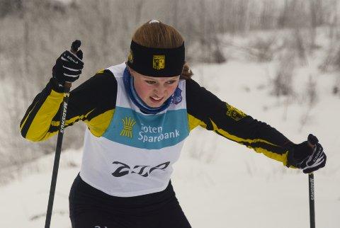 Synne Dragerengen fra Raufoss vant jenter 13 år i Madshussprinten.