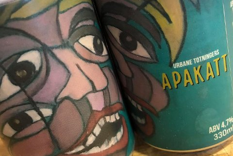 DEBUT: Apakatt er navnet på det første ølet utviklet av Svein Iversbakken i samarbeid med Urbane Totninger.
