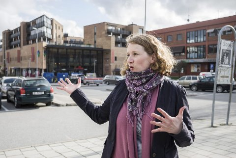 Fornøyd: Ordfører i Ski, Tuva Moflag er glad for at den nye skolen, mest sannsynlig, skal ligge i sentrum.